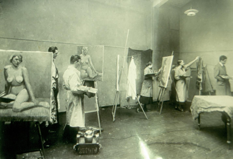 Fra Kunstakademiet  Tidlig 1900 - tall