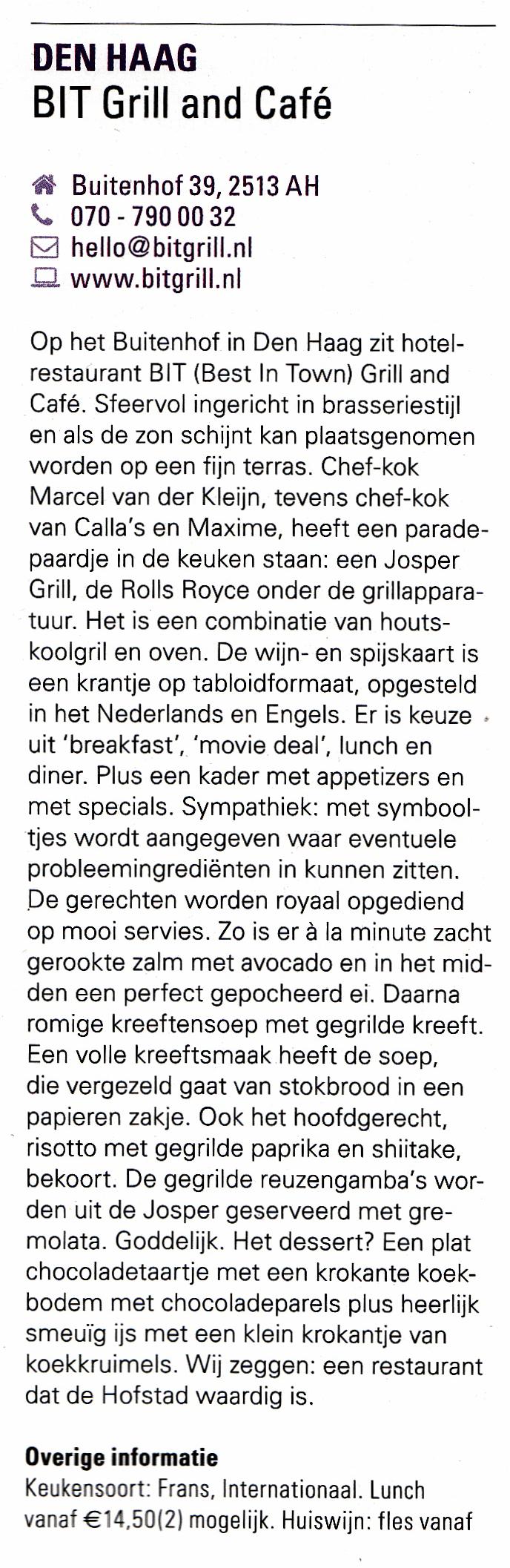 Uit Lekker De Beste 500 Restaurants in Nederland