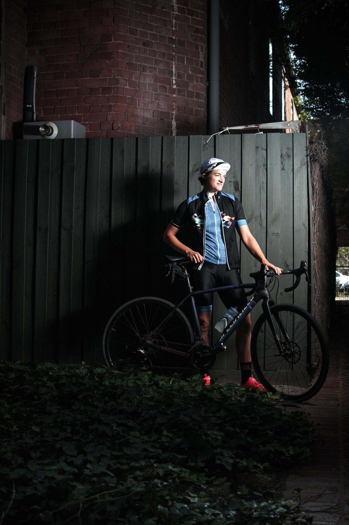 "#36 - NATALIE HOWARD   BIKE: ""HER BIT ON THE SIDE"" SPECIALIZED CX BIKE"
