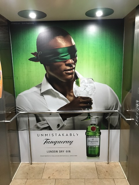 Tanqueray unmistakably campaign