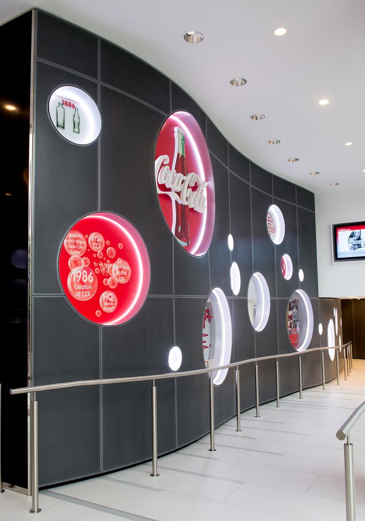 Coca Cola corporate branding