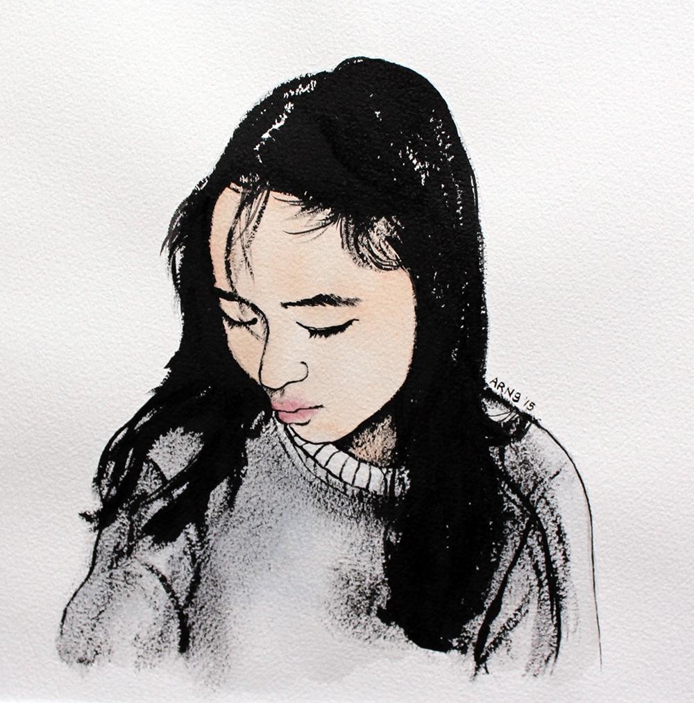 Inky Girl