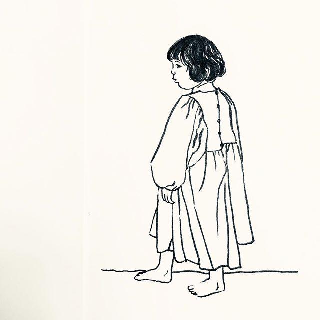 Little Gorl #inktober Day 3 🐹