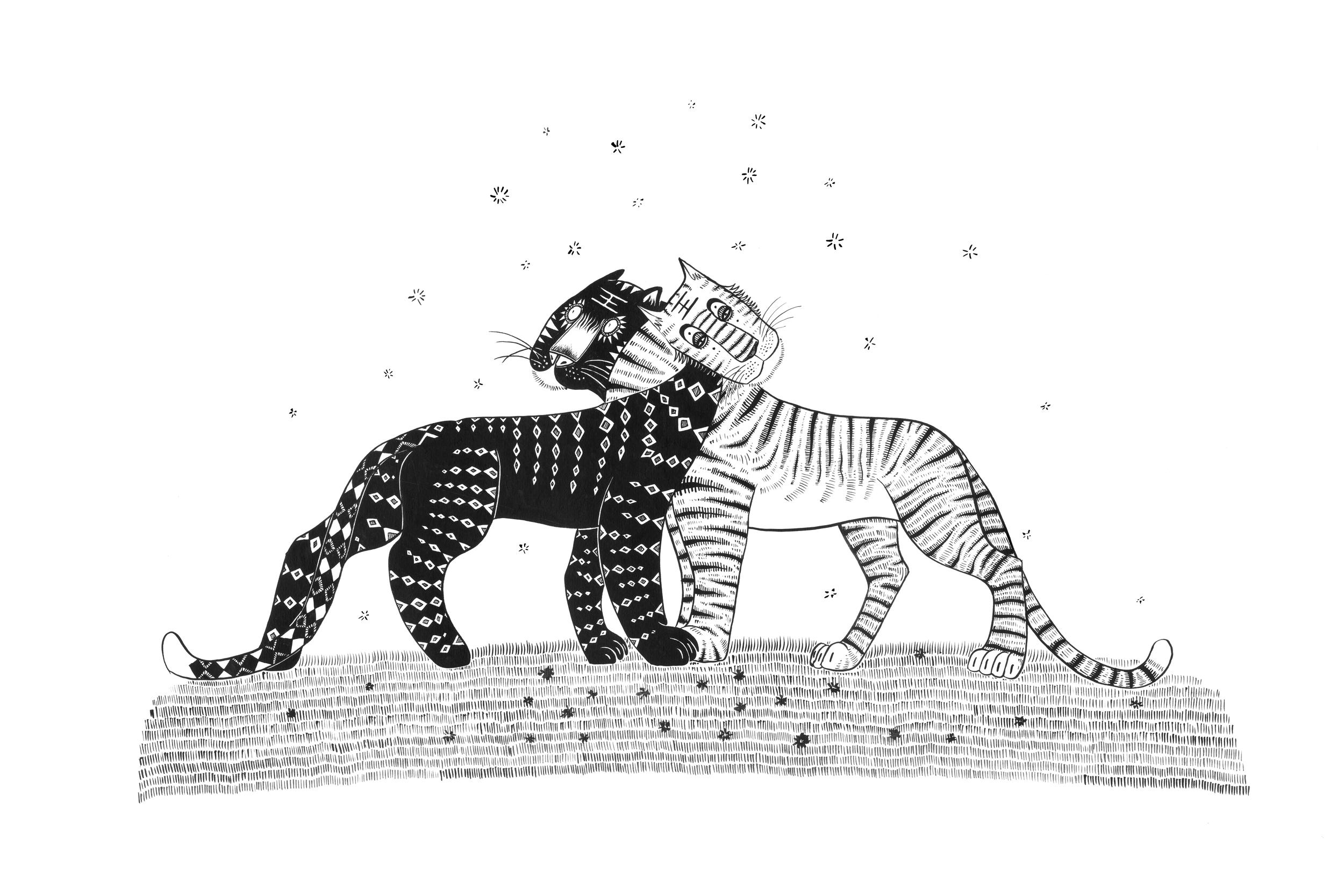 Sun Hoo tigers by simoneone