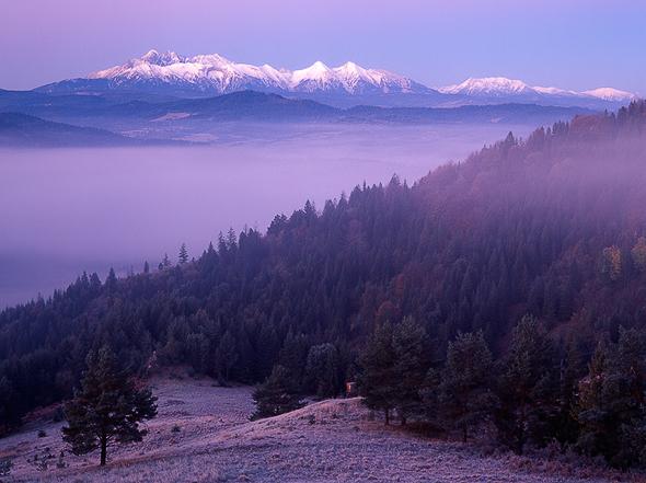High Tatras shot from Lesnicke sedlo