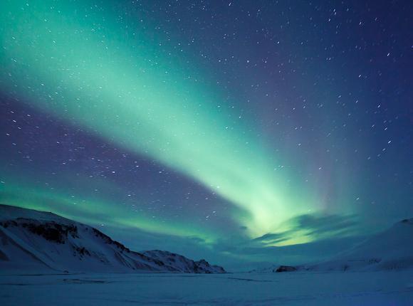 Northern Lights in Landmanalaugar