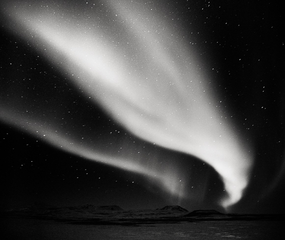 Title: Swallow, Camera: Mamiya RB Pro S, Lens: Mamiya Sekor 50 mm, Film: Kodak T-Max 400 @ 1600, Exposure: 45″ , f 5.6, Namafjall, Iceland, 2012