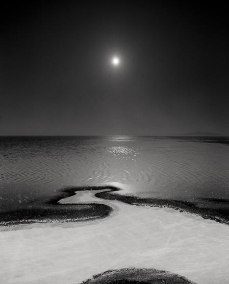 Title: Ice and Sun, Camera: Mamiya RB Pro S, Lens: Mamiya Sekor 50 mm, Film: Kodak T-Max 100, Exposure: 1/60 , f 8, Myvatn, Iceland, 2013