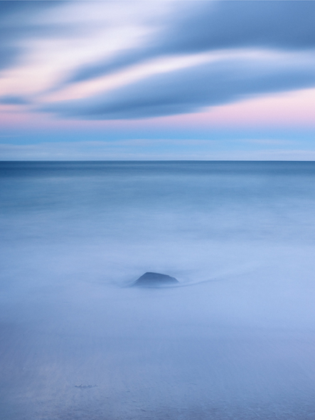 Caption: One Rock, Camera: Phase One 645DF+, Lens: Schneider-Kreuznach 45mm, Digital Back: Phase One IQ250, ISO: 100, Speed: 1m, Aperture: f/22, Filters: Lee ND Graduated Soft 0.45