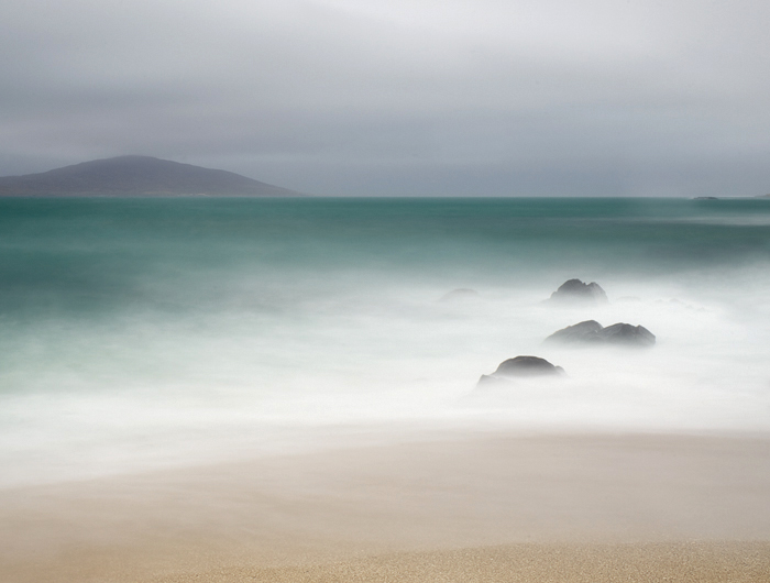 Caption: Three Rocks, Camera: Phase One 645DF+, Lens: Schneider-Kreuznach 45mm, Digital Back: Phase One IQ250, ISO: 100, Speed: 39s, Aperture: f/22, Filters: Lee ND Graduated Soft 0.45, Lee ND 0.9