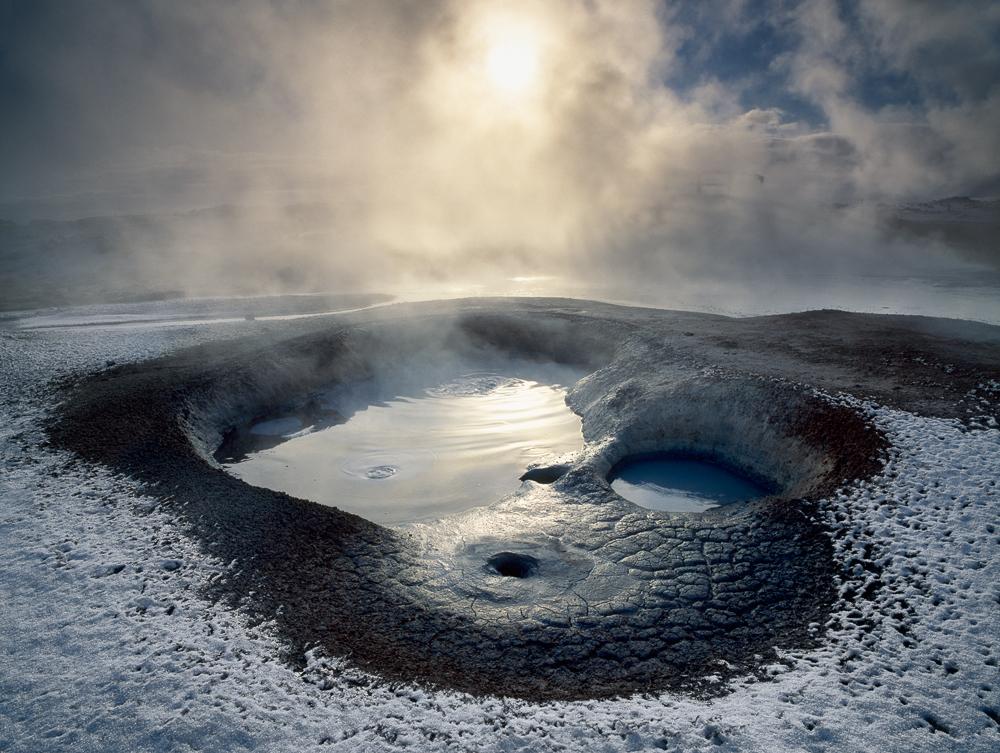 Namafjal, Iceland, mud pond