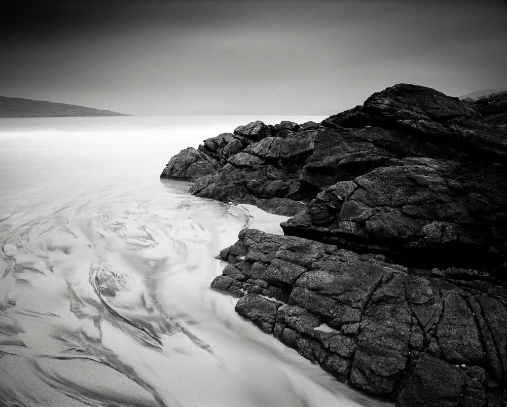 "Title: Imbalance 2, Camera: Mamiya RB 67 Pro SD, Lens: Sekor 50 mm, Film: Kodak T-Max 100, Exposure: 180"",f 16, Harris, Scotland, 2014"