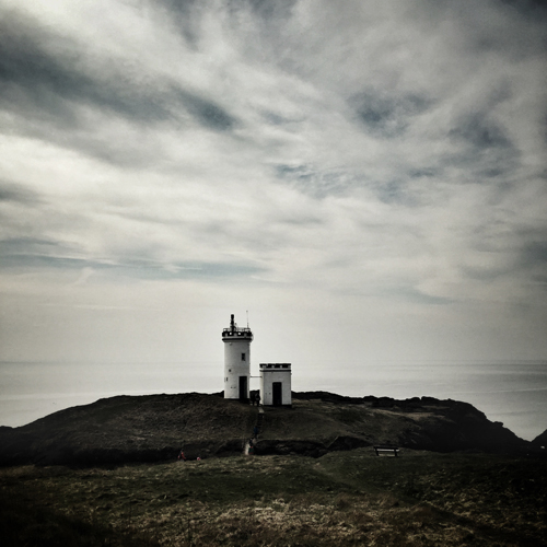 Lighthouse in Elie