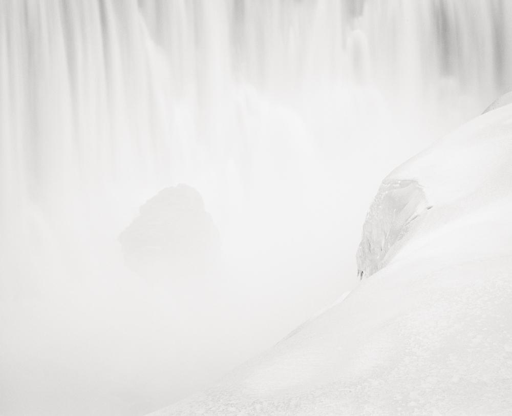 "Title: Dettifoss 1, Camera: Mamiya RB 67 Pro SD, Lens: Sekor 90 mm, Film: Kodak T-Max 400, Exposure: 6"",f 8, Iceland, 2013"