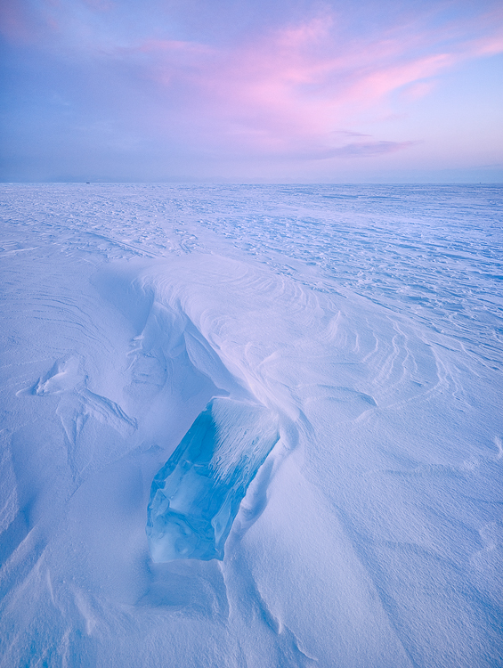 Caption: Ice Block;Camera: Linhof Techno;Digital Back: Phase One IQ150; Lens: Rodenstock 23mm f/5.6 HR Digaron S;Exposure: 1/8s;Aperture: f/11; ISO: 100; Filter: Lee ND0.45 Soft