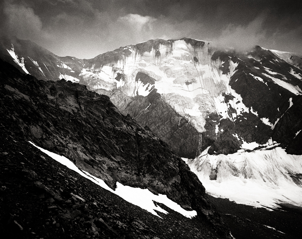 Glacier du Miage, Mamiya RB 67 Pro SD, Bergger Pancro 400