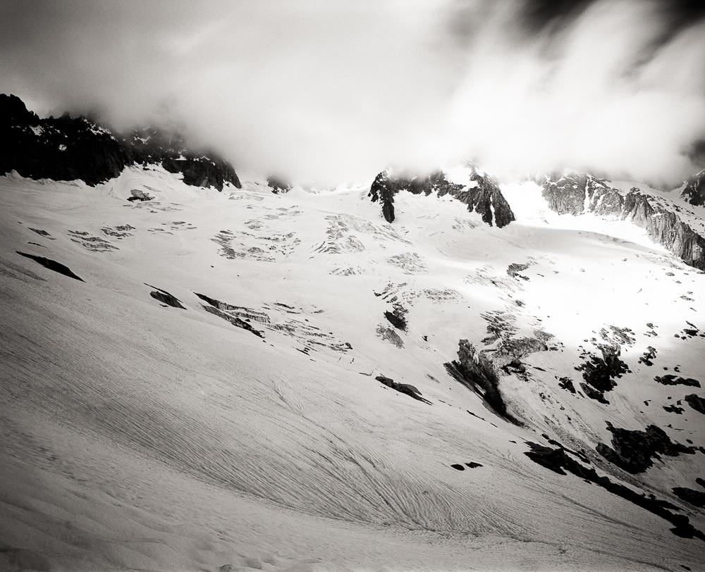 Glacier de Talefre, Mamiya RB 67 Pro SD, Kodak T-Max 100