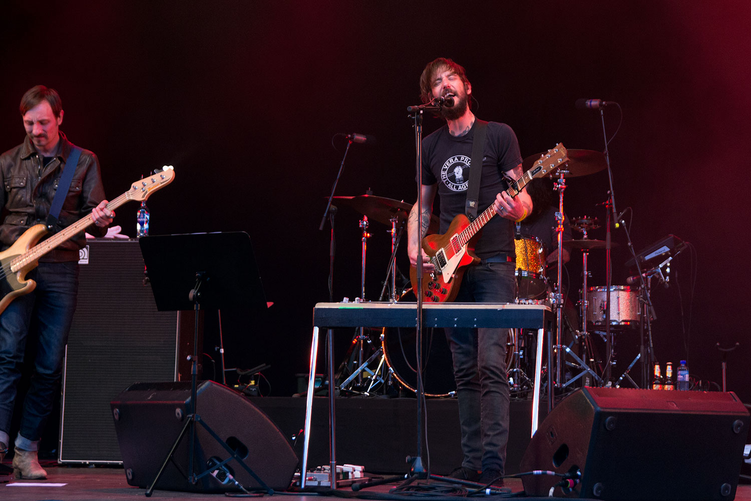 Band of Horses live at Piknik i Parken, Oslo Norway. June 2016.