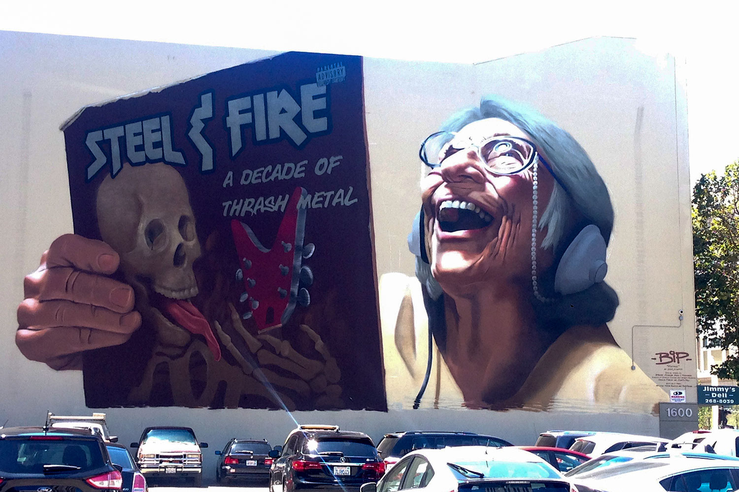 Coolest. Mural. EVER!