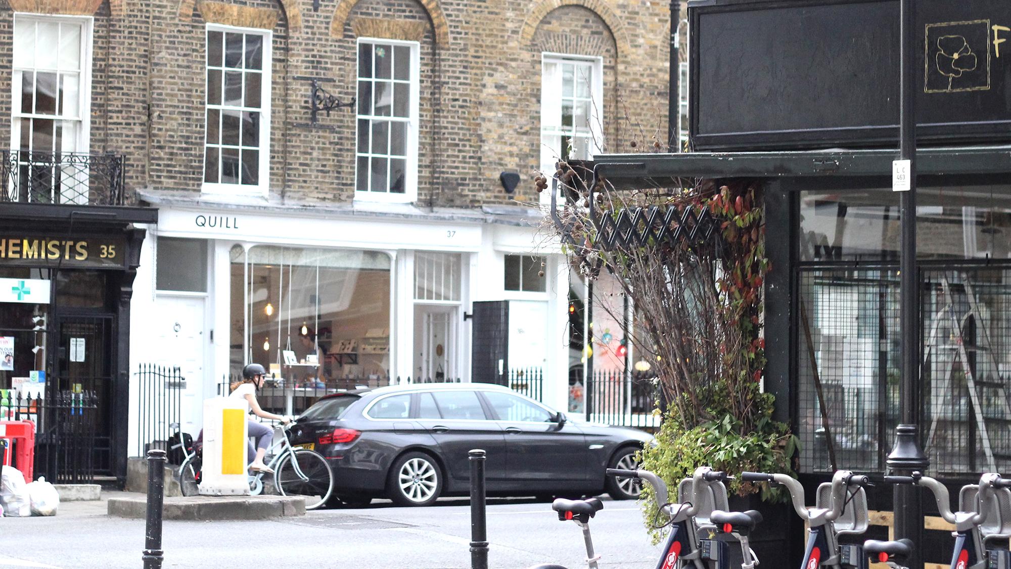 ▼ Quill: 37 Amwell Street, London EC1R 1UR