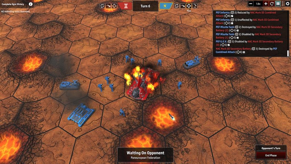 Ogre on Fire - IceHippo