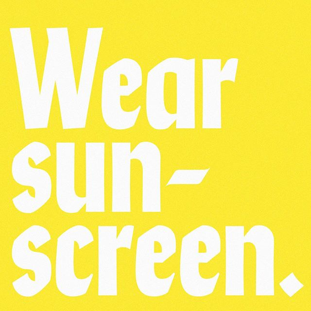 This year for #MelanomaMonday I partnered with @supergoop to remind you guys to #WearSunscreen. It is very important. Your skin is your largest organ— treat it right. 🌞