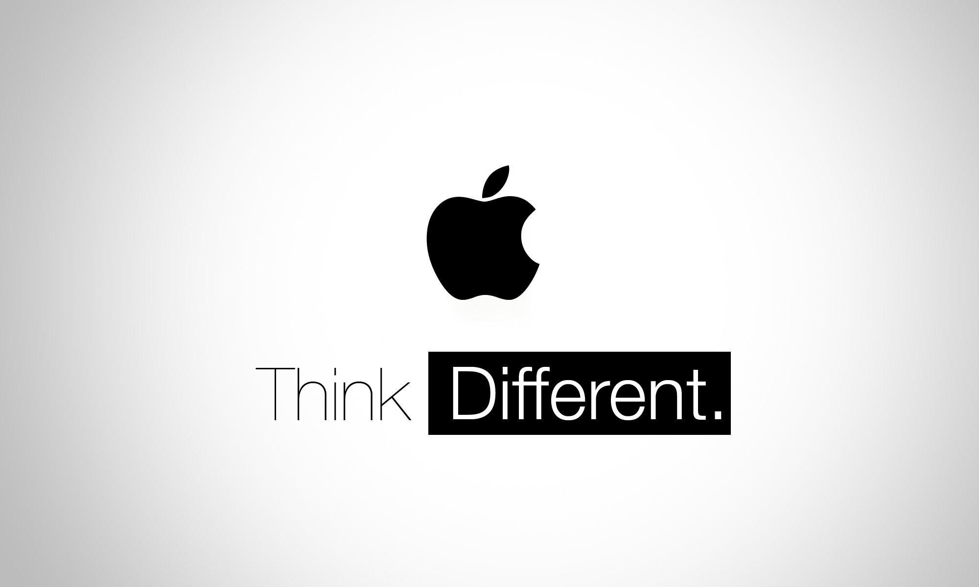 Рэмос-Альфа. Слоган Apple