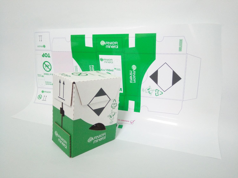 Цветопроба и упаковка для клиента Арнест
