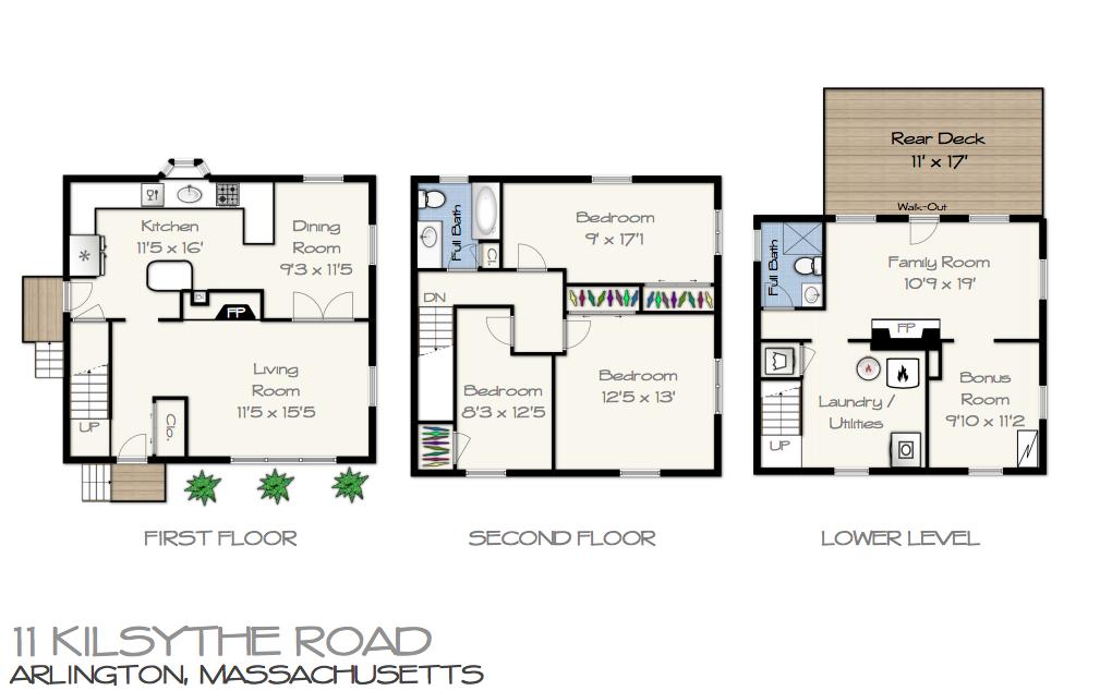 11 Kilsythe Rd Floor Plan