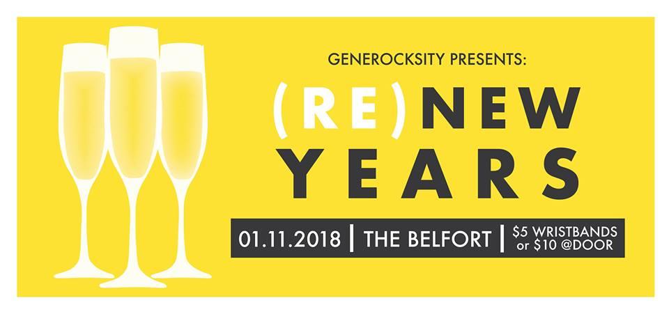 GENEROCKSITY PRESENTS: (RE) NEW YEARS (1/18)