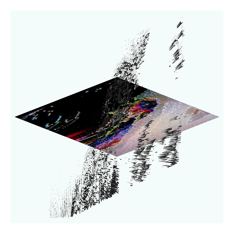 "Snow Crash   Archival Pigment Print, edition of 3   44"" x 44""    2012"