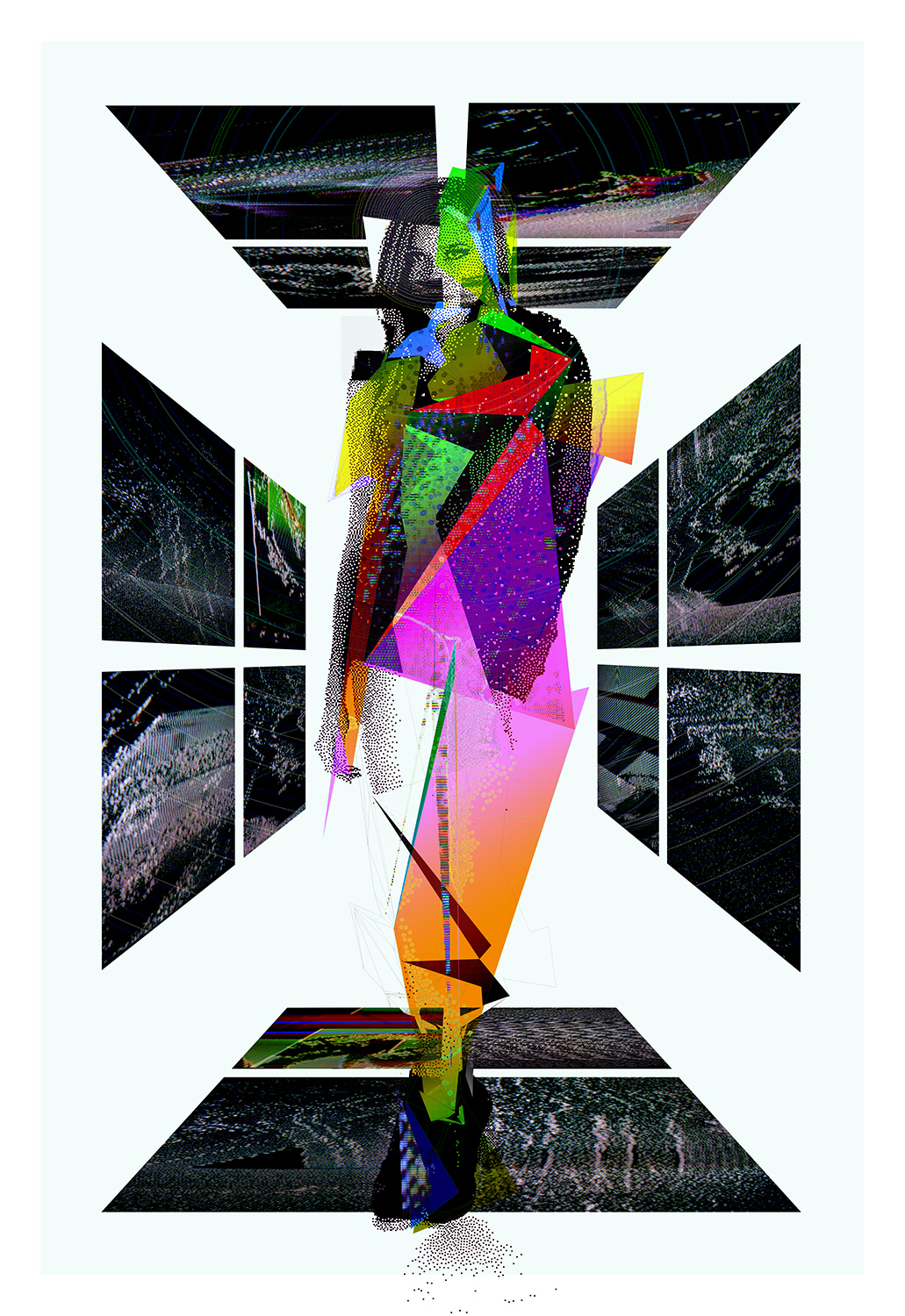 """Always On   Archival Pigment Print, edition of 3   44"""" x 64""""    2012"""
