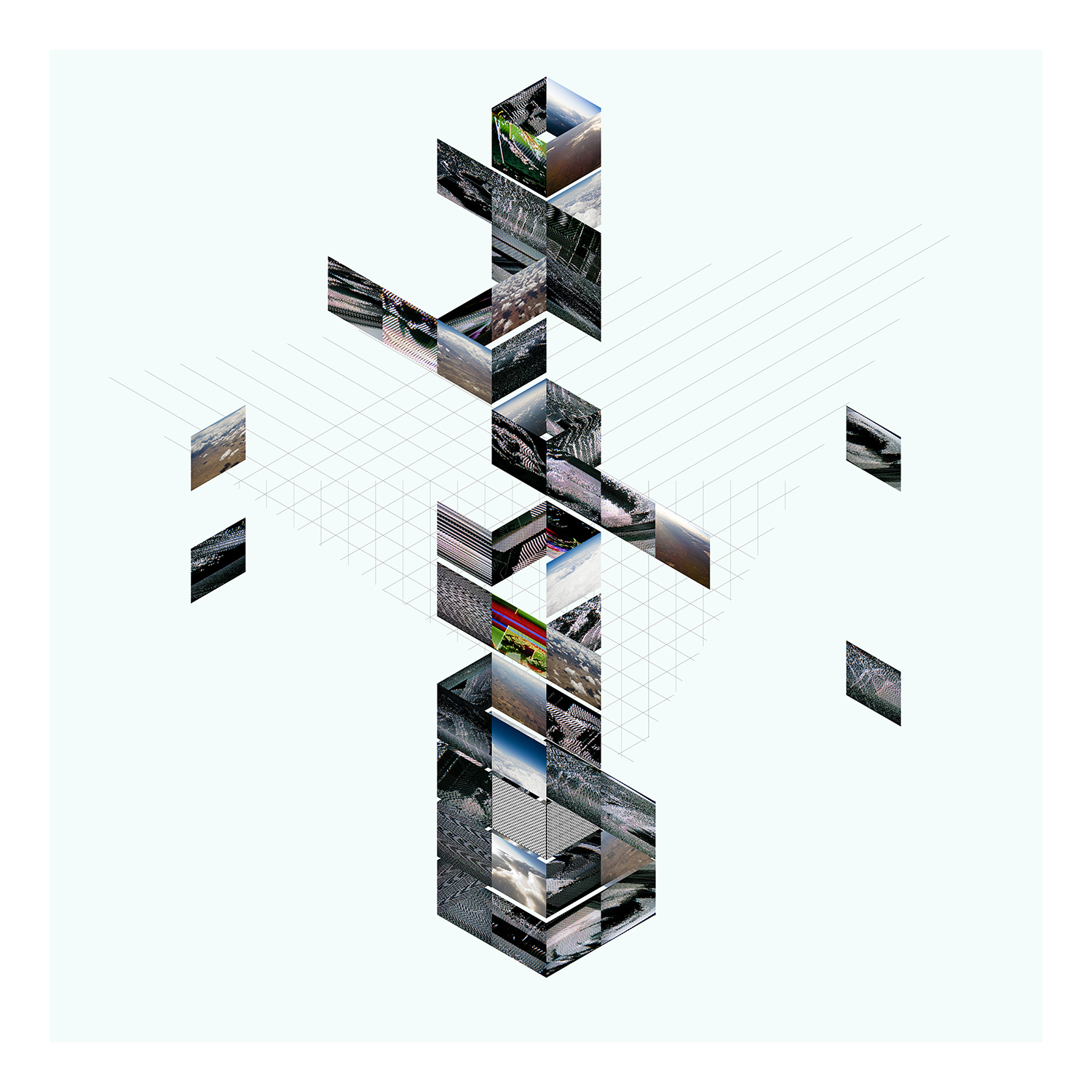 """Control Video Cooperation   Archival Pigment Print, edition of 3   44"""" x 44""""    2012"""