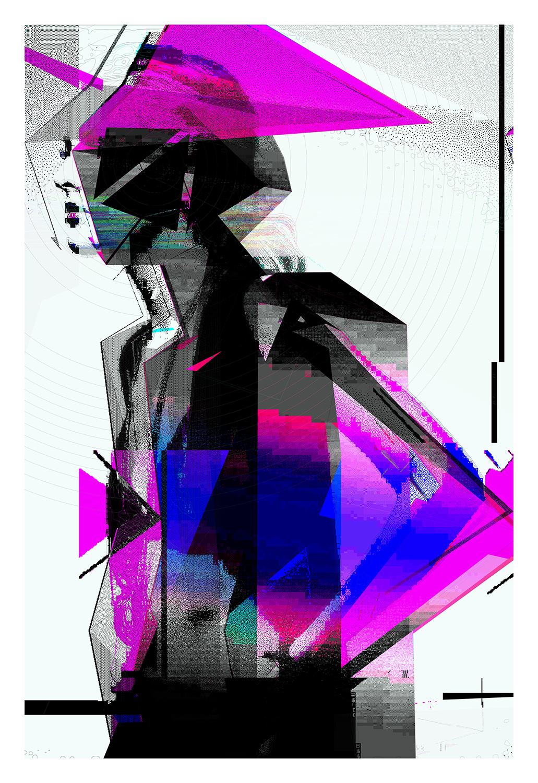"Bit Drift   Archival Pigment Print, edition of 3   44"" x 64""    2012"
