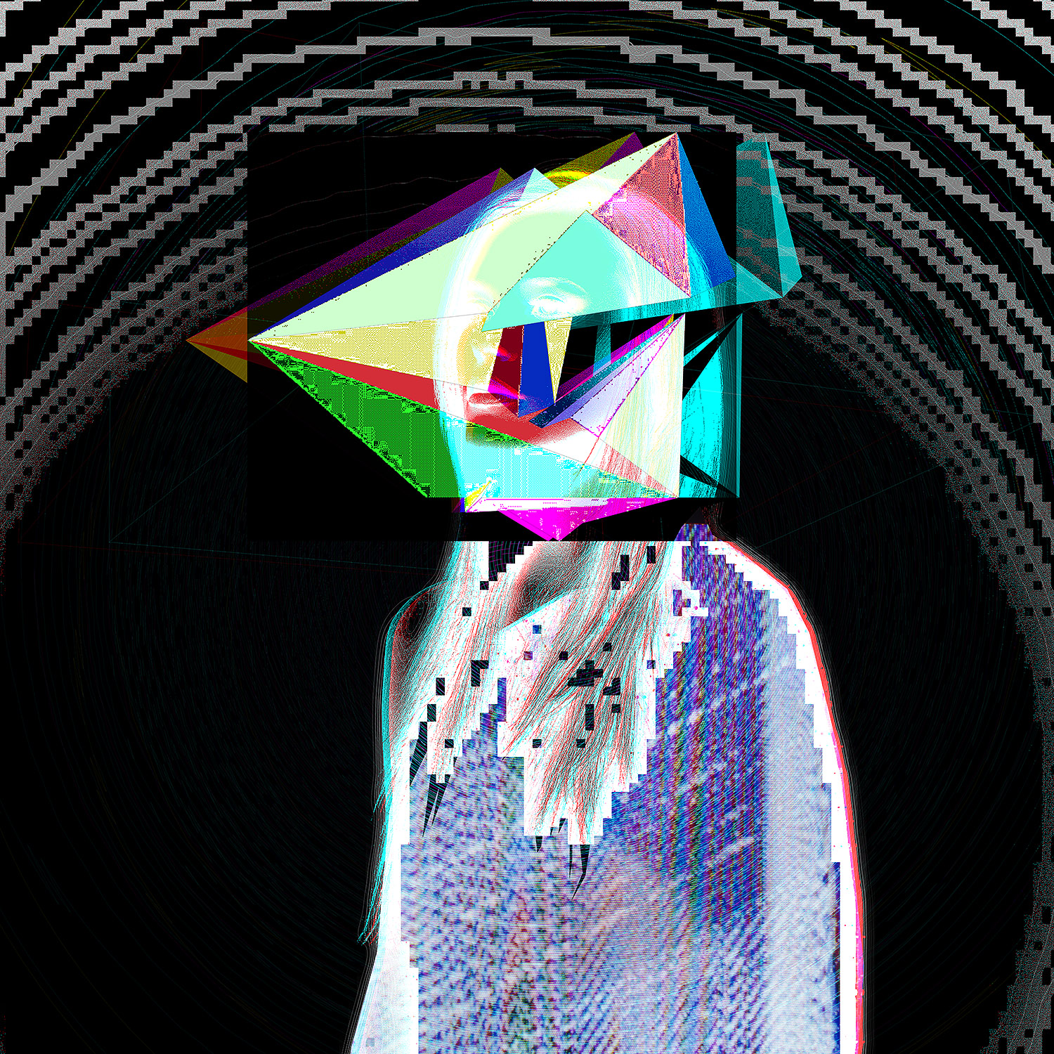 """Supersymmetry   Archival Pigment Print, edition of 3   44"""" x 44"""""""