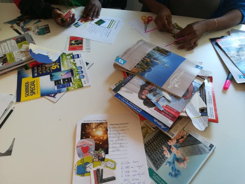 Kreatives Lernen im Kompass-Programm