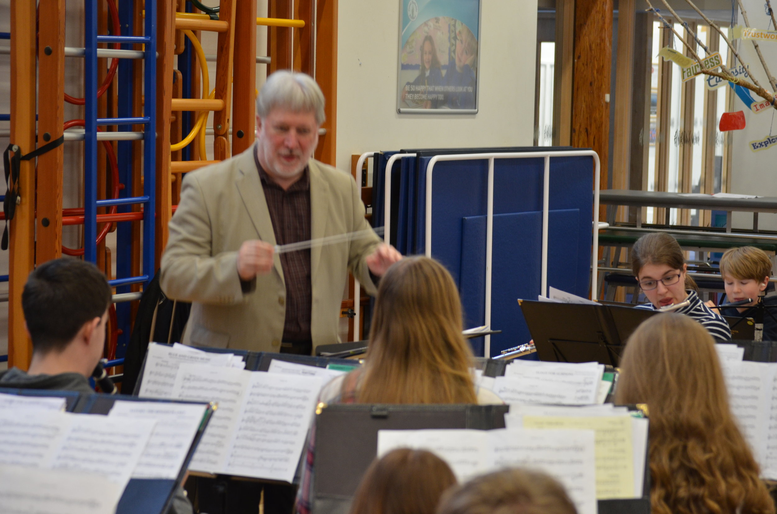 Workshop with Guest Conductor Colin Touchin.