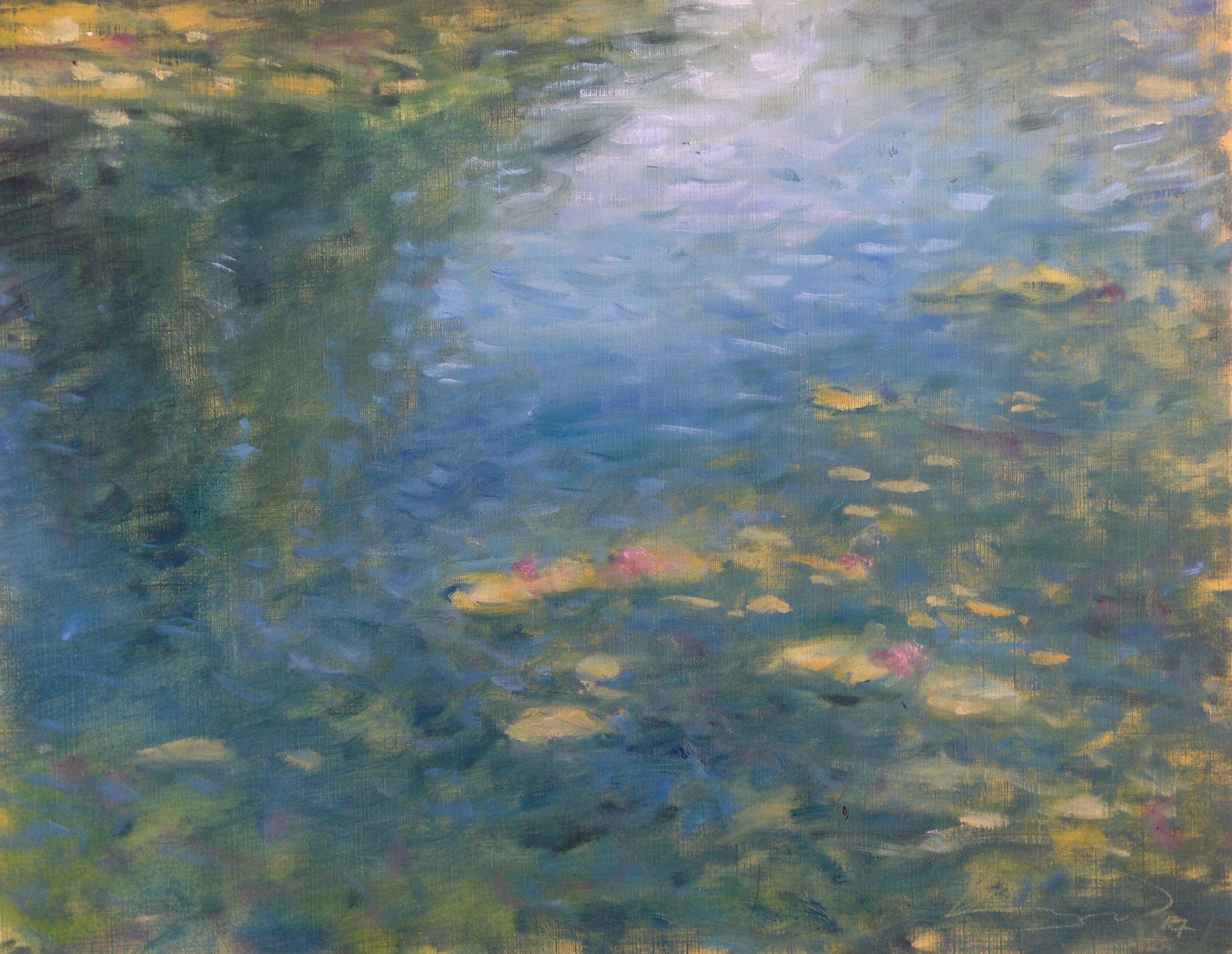 Waterlilies (Blue)