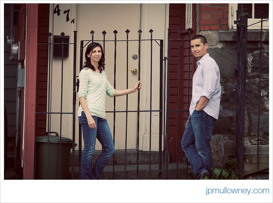 Jon and Julia casual