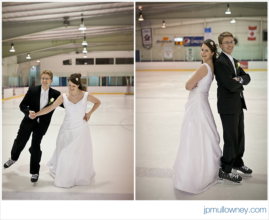 Andrew and Leslie On Ice
