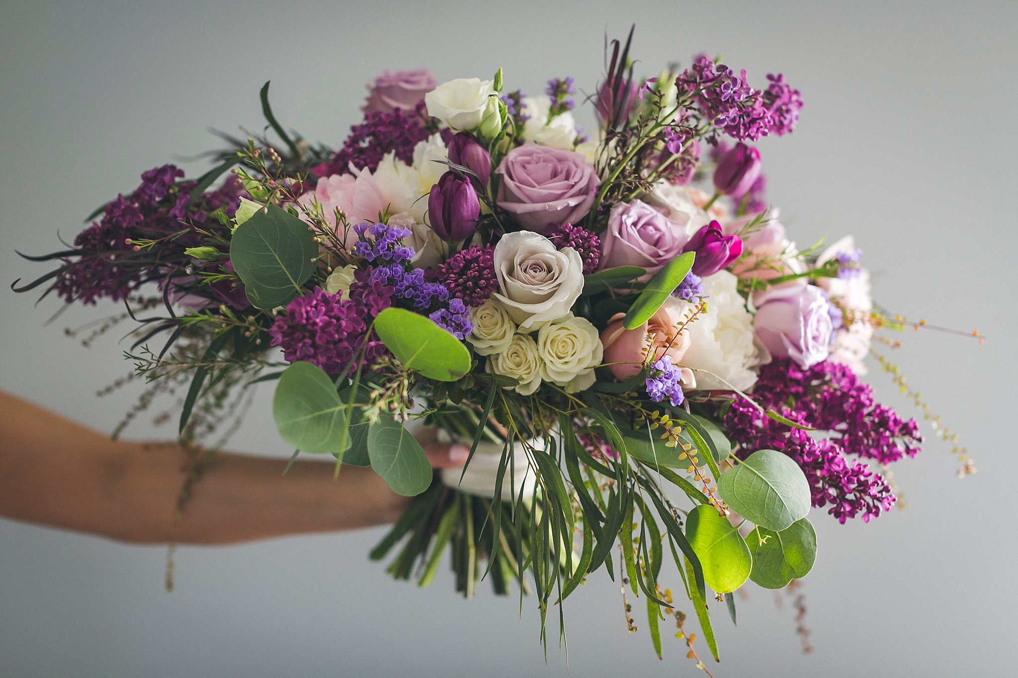Bride's bouquet by Kristyna Adamova of Event 3Sixty in St. John's, NL