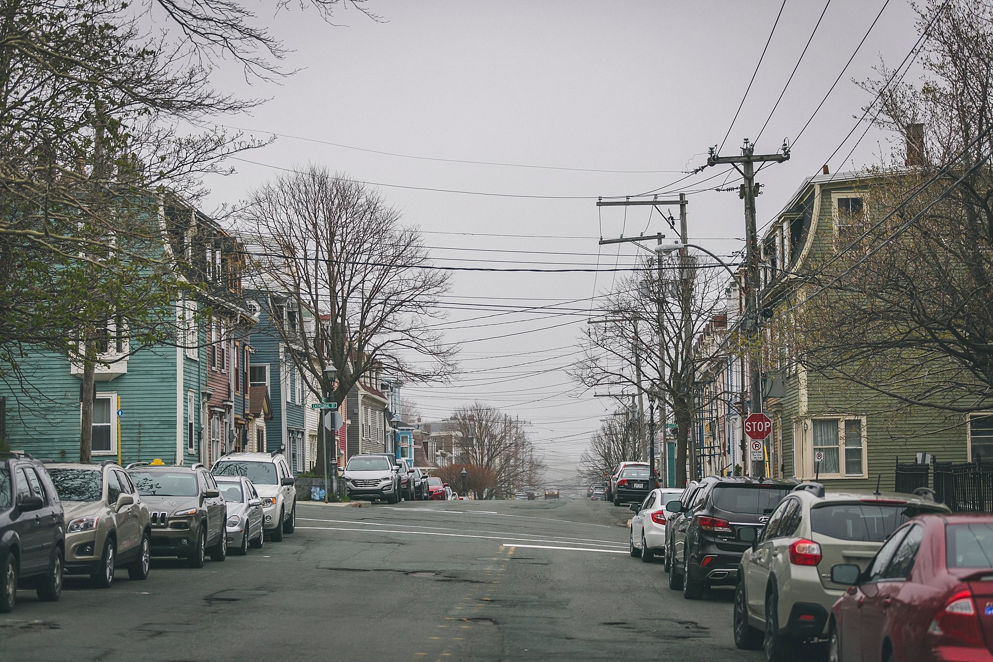 Gower Street was the location for this St. John's, Newfoundland wedding.