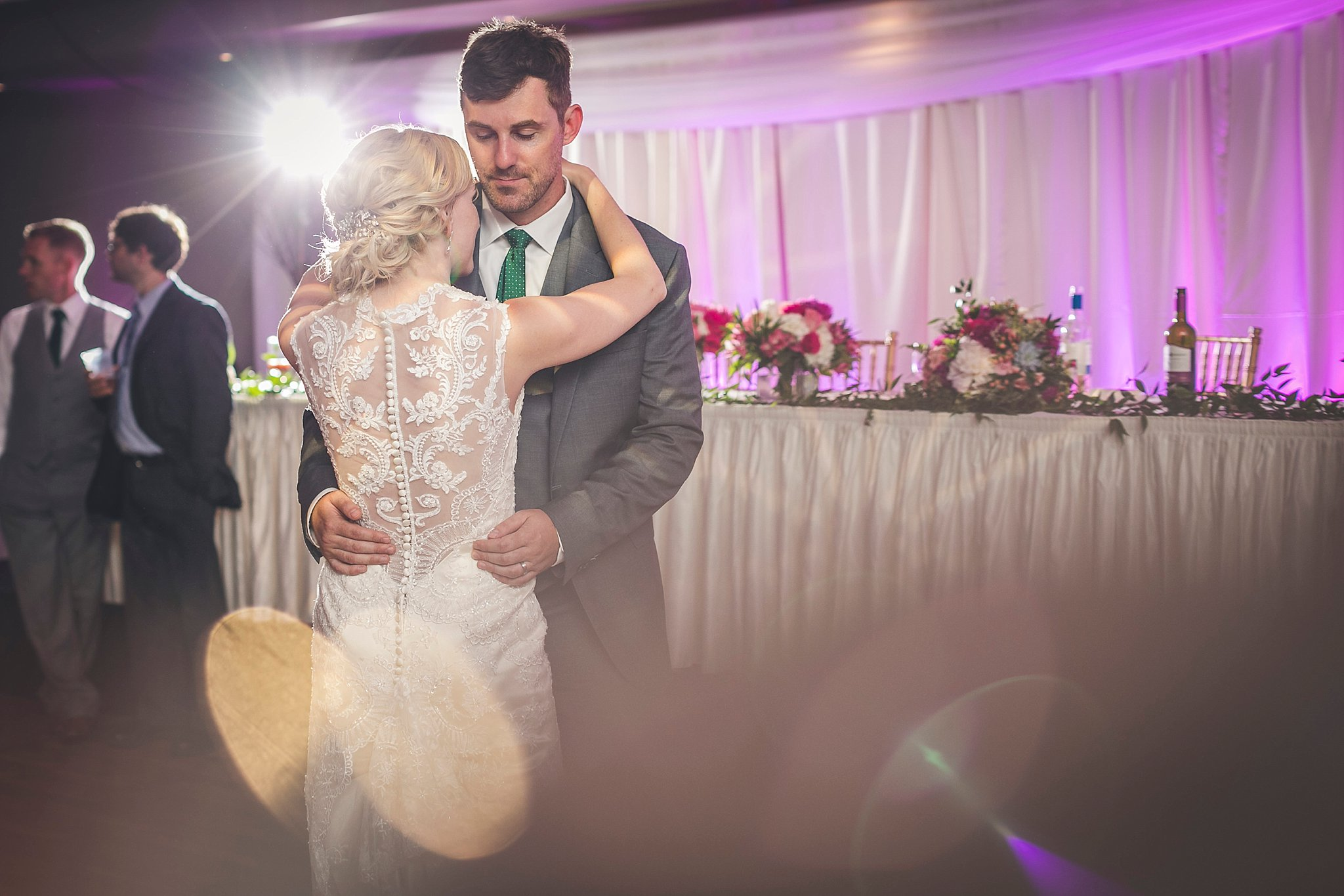 Bride and Groom's first dance during a Newfoundland Wedding held at Glendenning in St. John's