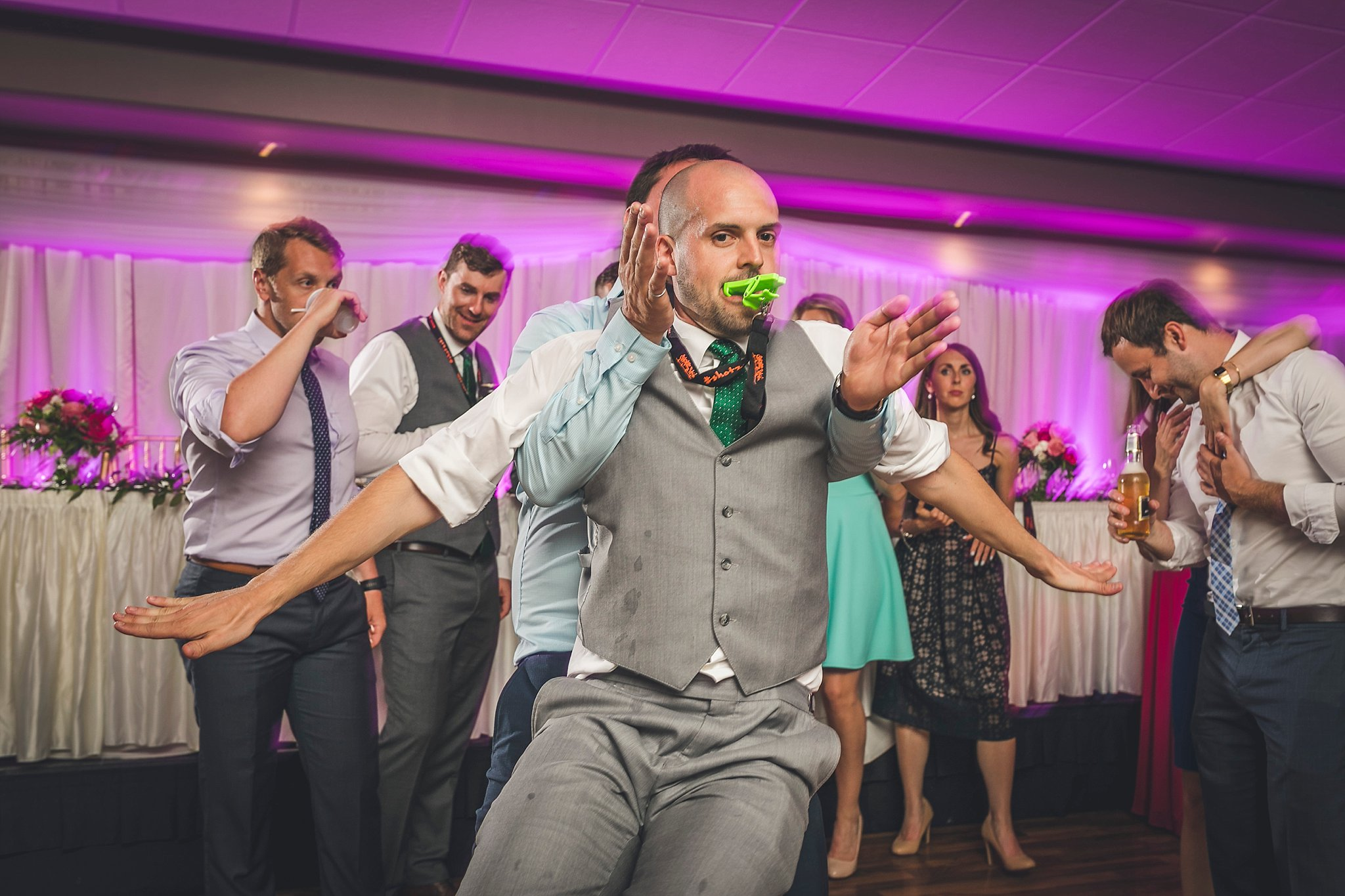 Dance floor photographs at a Newfoundland Wedding held at Glendenning in St. John's