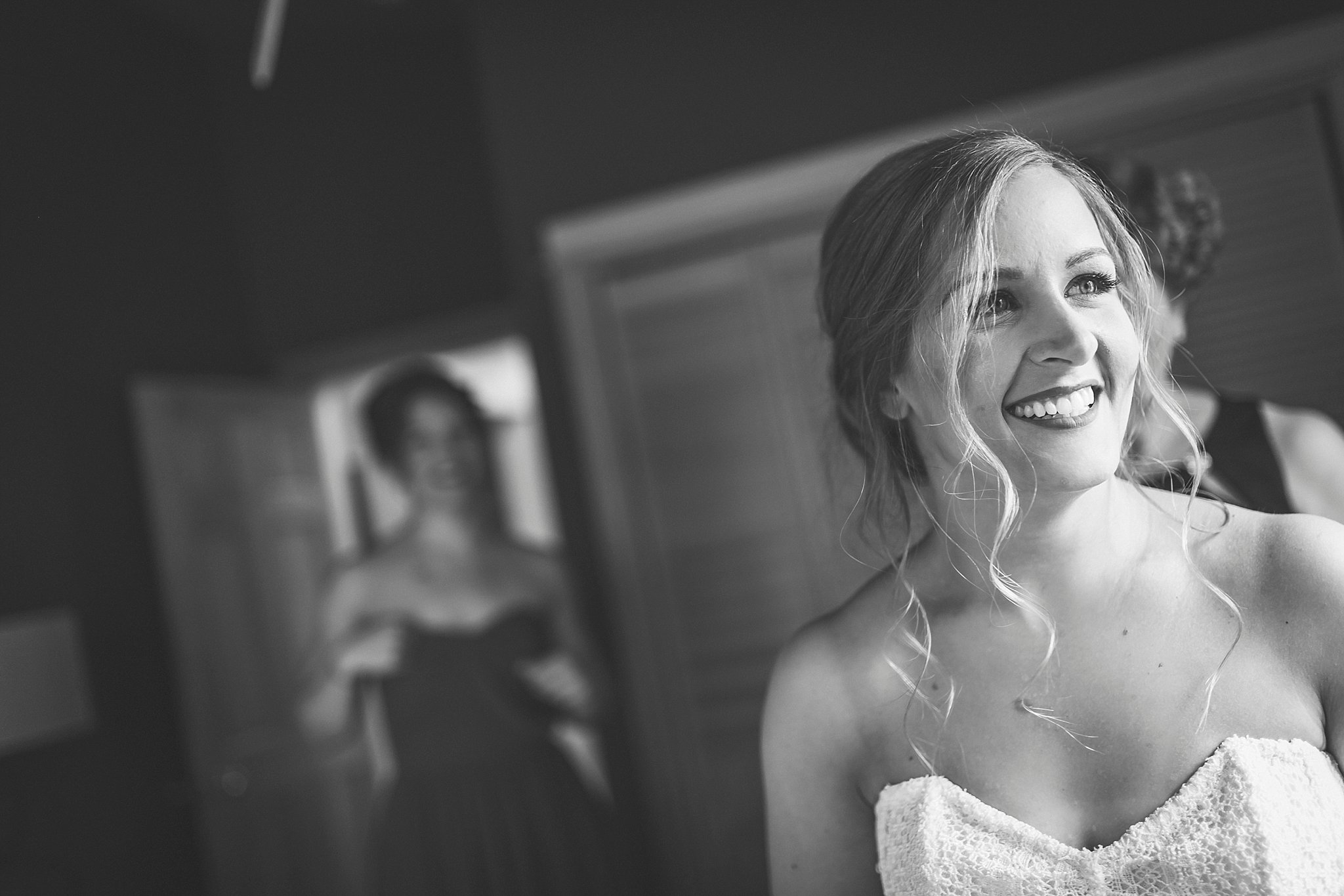 A bride prepares for her wedding day in St. John's, Newfoundland