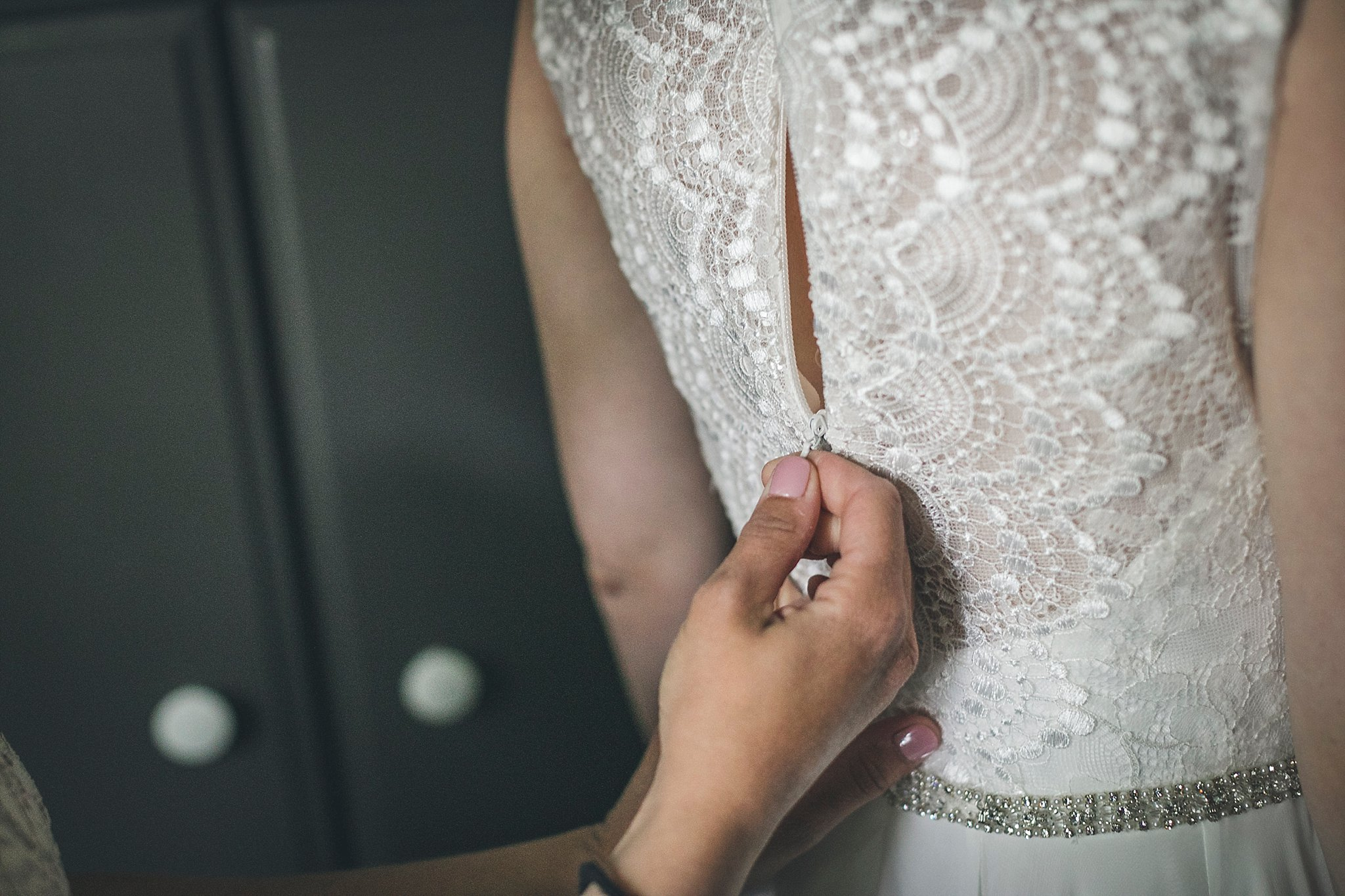 A bride prepares for her St. John's, Newfoundland Wedding