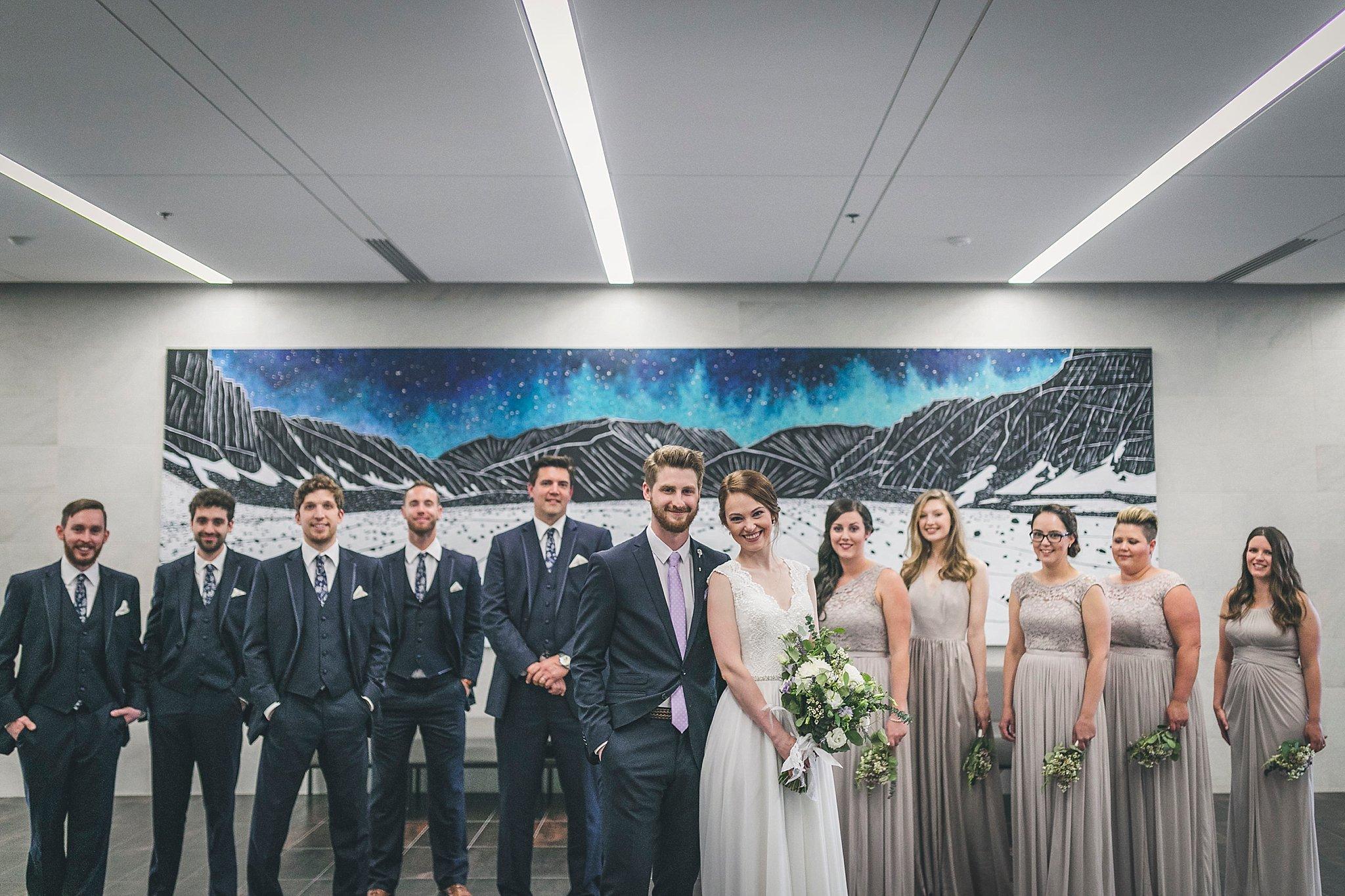 Wedding party  photos by St. John's Wedding Photographer JP Mullowney