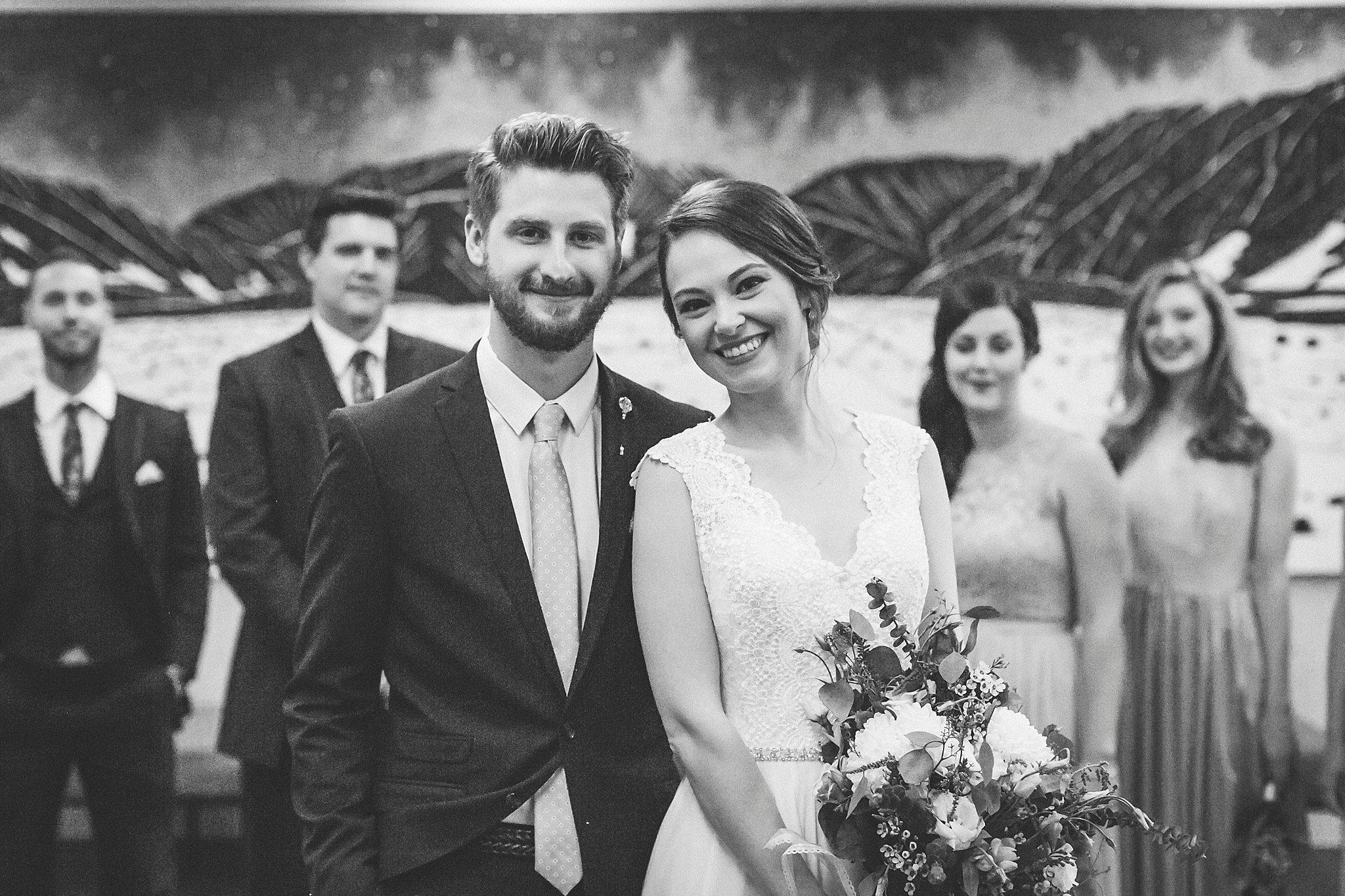 Bride and Groom portraits during their Newfoundland Wedding