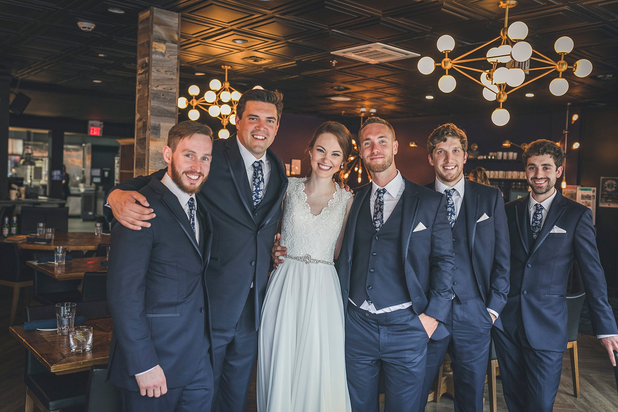 Wedding photography at the 5th Ticket in downtown St. John's, Newfoundland