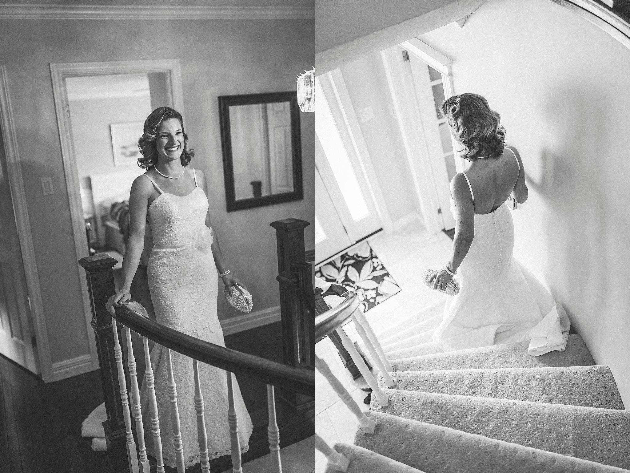 Bride prepares for her wedding in St. John's, Newfoundland